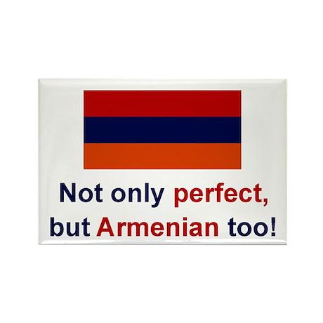 Perfect Armenian Rectangle Magnet
