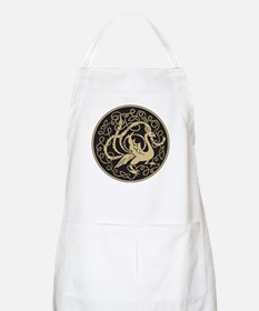 Celtic Peacock BBQ Apron