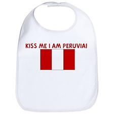 KISS ME I AM PERUVIAN Bib