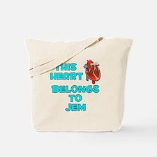 This Heart: Jem (B) Tote Bag