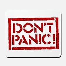 Hitchhiker - Don't Panic! Mousepad