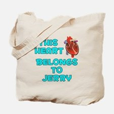 This Heart: Jerry (B) Tote Bag