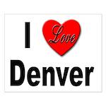 I Love Denver Small Poster