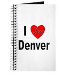 I Love Denver Journal