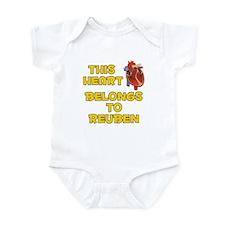 This Heart: Reuben (A) Infant Bodysuit