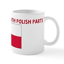 MADE IN AMERICA WITH POLISH P Mug