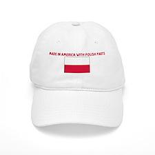 MADE IN AMERICA WITH POLISH P Baseball Cap