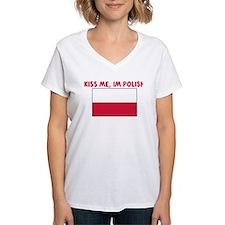 KISS ME IM POLISH Shirt