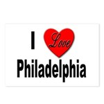 I Love Philadelphia Postcards (Package of 8)