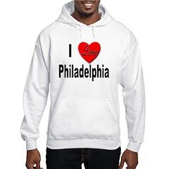 I Love Philadelphia (Front) Hoodie