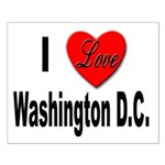 I Love Washington D.C. Small Poster