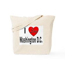 I Love Washington D.C. Tote Bag