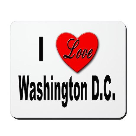I Love Washington D.C. Mousepad