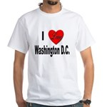 I Love Washington D.C. White T-Shirt