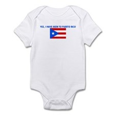 YES I HAVE BEEN TO PUERTO RIC Infant Bodysuit