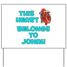 This Heart: Jonah (B) Yard Sign