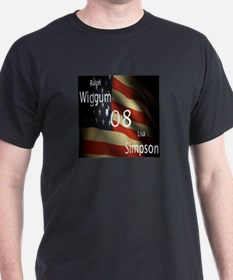 Wiggum / Simpson for President T-Shirt