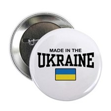 "Made in the Ukraine 2.25"" Button"