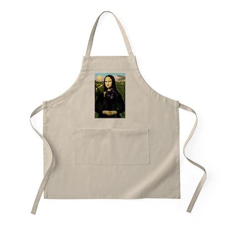 Mona Lisa & Schipperke BBQ Apron