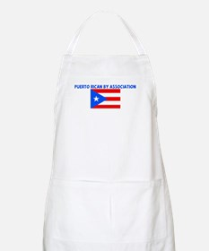 PUERTO RICAN BY ASSOCIATION BBQ Apron