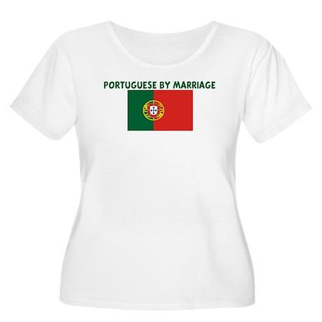 PORTUGUESE BY MARRIAGE Women's Plus Size Scoop Nec