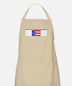 PROUD TO BE A PUERTO RICAN GR BBQ Apron