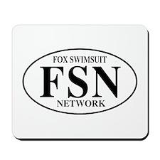 FSN Fox Swimsuit Network Mousepad