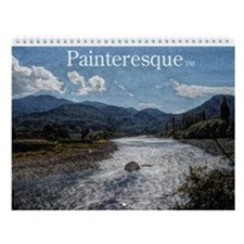 Painteresque Wall Calendar