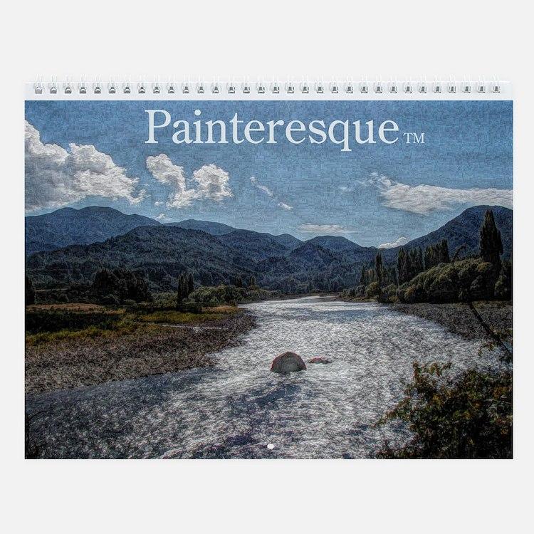 Painteresque Wall Calendar