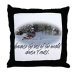 Rest of the World Throw Pillow