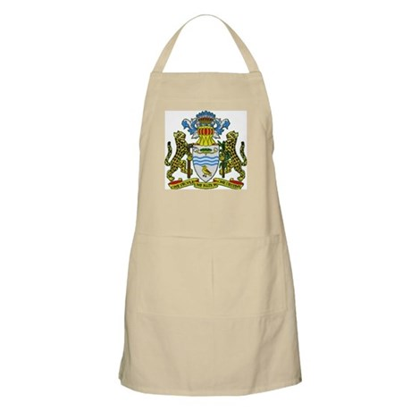 Guyana Coat of Arms BBQ Apron