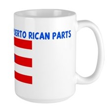 MADE IN US WITH PUERTO RICAN  Mug