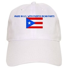 MADE IN US WITH PUERTO RICAN Baseball Cap