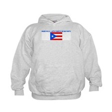 MADE IN US WITH PUERTO RICAN  Hoodie