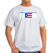MADE IN US WITH PUERTO RICAN  T-Shirt