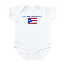 I LOVE MY PUERTO RICAN UNCLE Infant Bodysuit