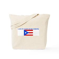 I LOVE MY PUERTO RICAN GRANDM Tote Bag