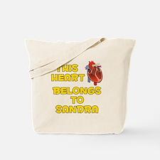 This Heart: Sandra (A) Tote Bag