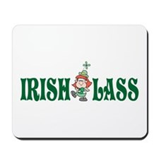 Irish Lass Mousepad