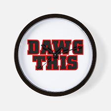 Original DAWG THIS! Wall Clock