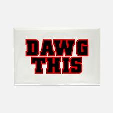 Original DAWG THIS! Rectangle Magnet