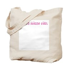 Costa Rican Girl Tote Bag