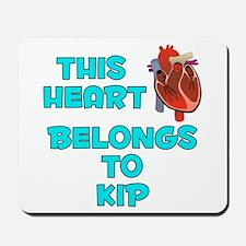This Heart: Kip (B) Mousepad