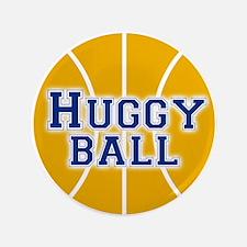"Huggy Ball 3.5"" Button"