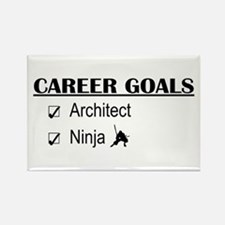 Architect Career Goals Rectangle Magnet