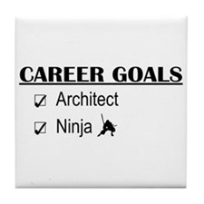 Architect Career Goals Tile Coaster