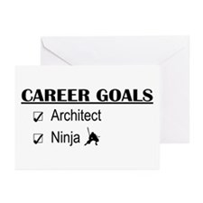 Architect Career Goals Greeting Cards (Pk of 10)