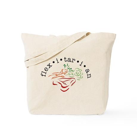 Flexitarian Tote Bag