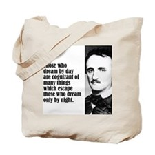 "Poe ""Dream by Day"" Tote Bag"