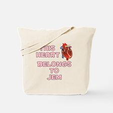 This Heart: Jem (C) Tote Bag